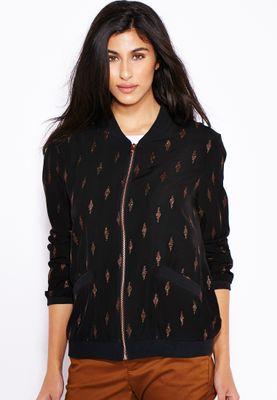 MANGO Embroidered Bomber jacket