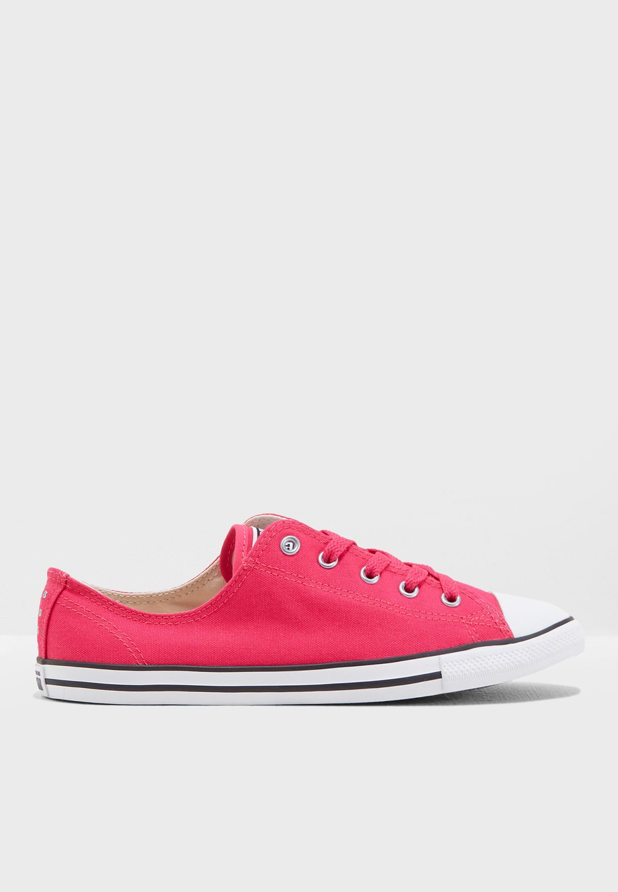adc84237a4b0 Shop Converse pink Chuck Taylor All Star Dainty 561646C-673 for Women in  UAE - CO049SH11IBG