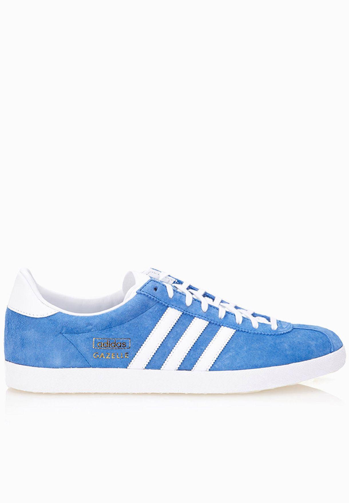 Shop adidas Originals blue Gazelle OG G16183 for Men in Bahrain -  AD478SH11ITG b8183fa64