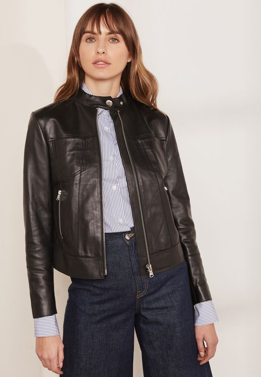 Pontente Leather Look Jacket