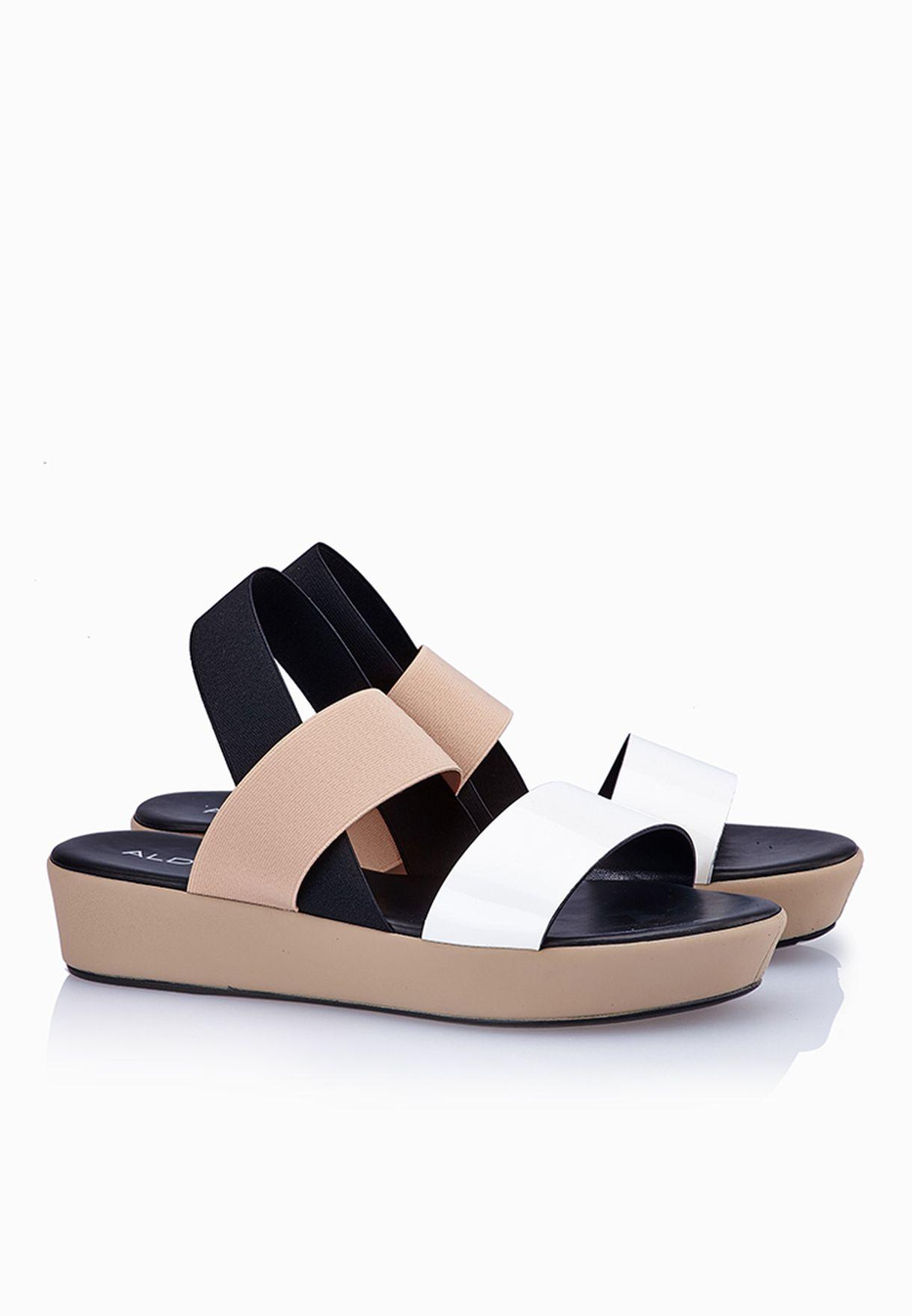 16e4d53c9b3c Shop Aldo multicolor Zirawiel Wide Strap Sandals for Women in ...