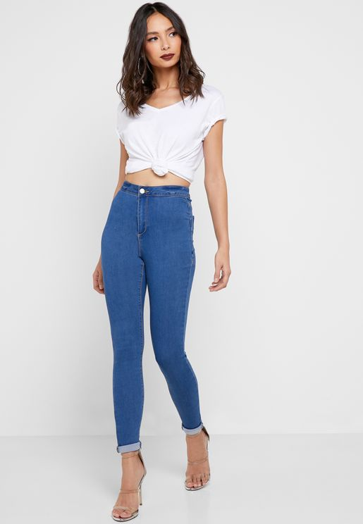 Vice Highwaisted Skinny Jeans