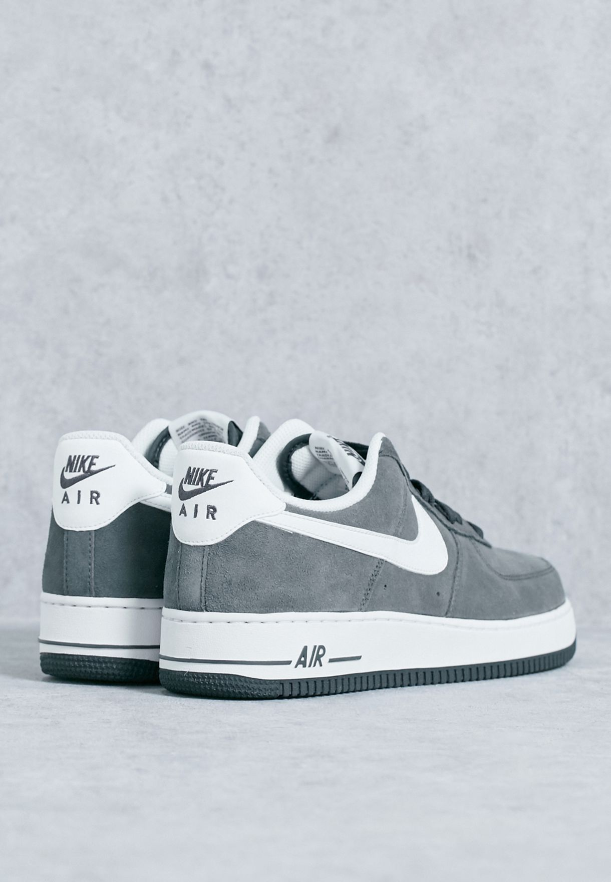 on sale 04b36 66a5c Shop Nike grey Air Force 1 3907 315122-067 for Men in UAE ..