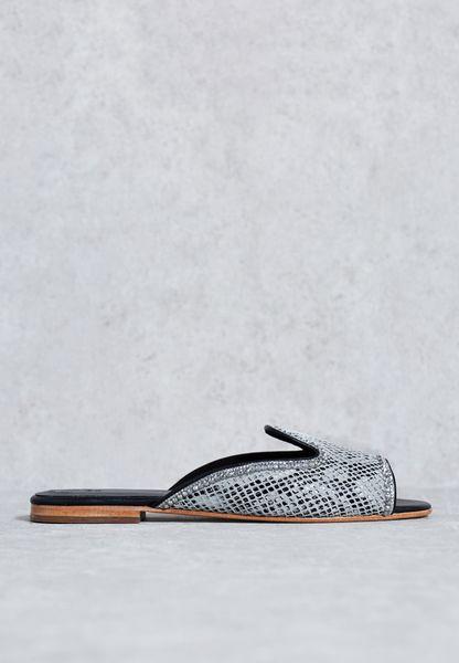 Textured Crystalised Sandal