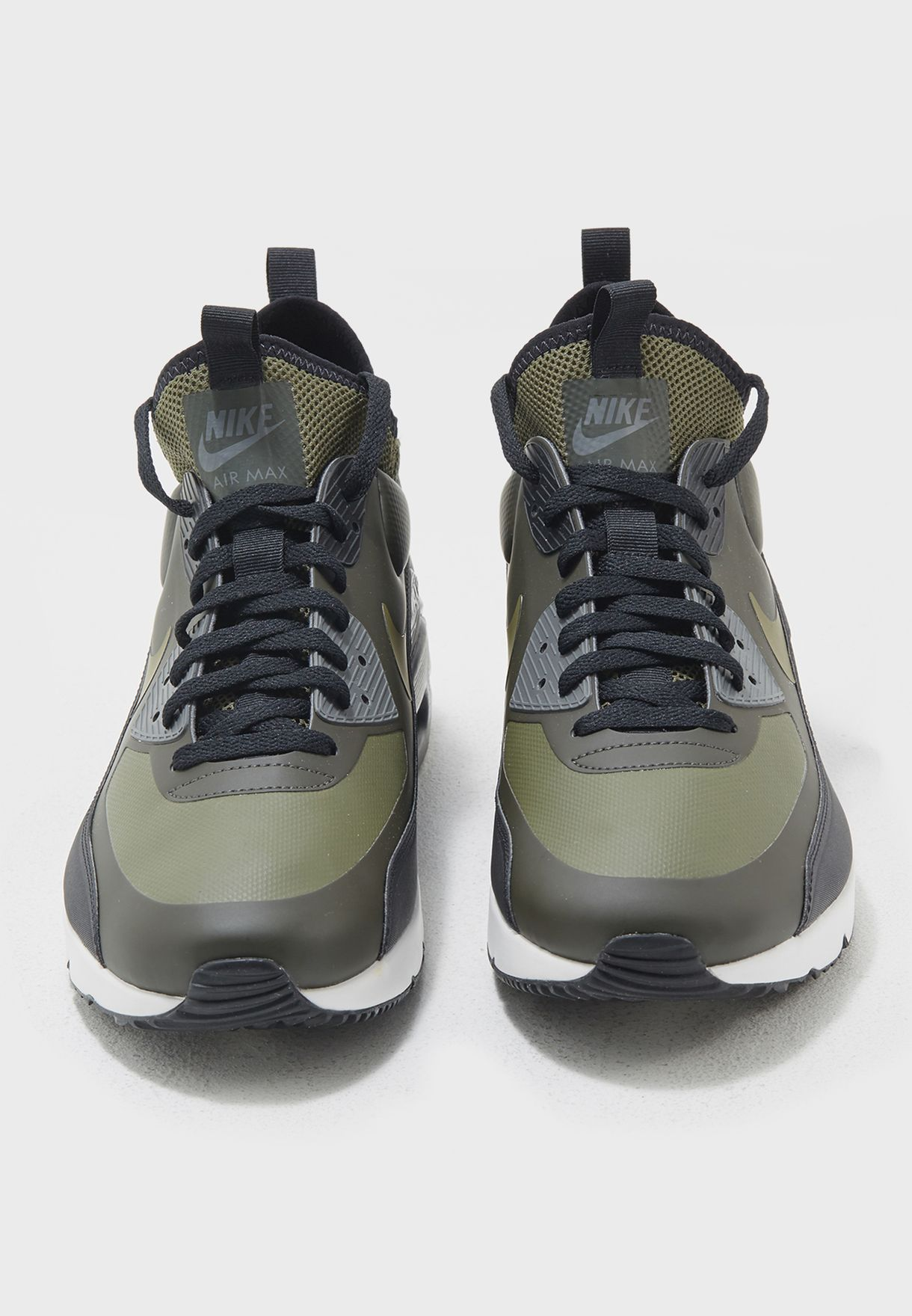 1b6036a22d Shop Nike green Air Max 90 Ultra Mid Winter 924458-300 for Men in ...