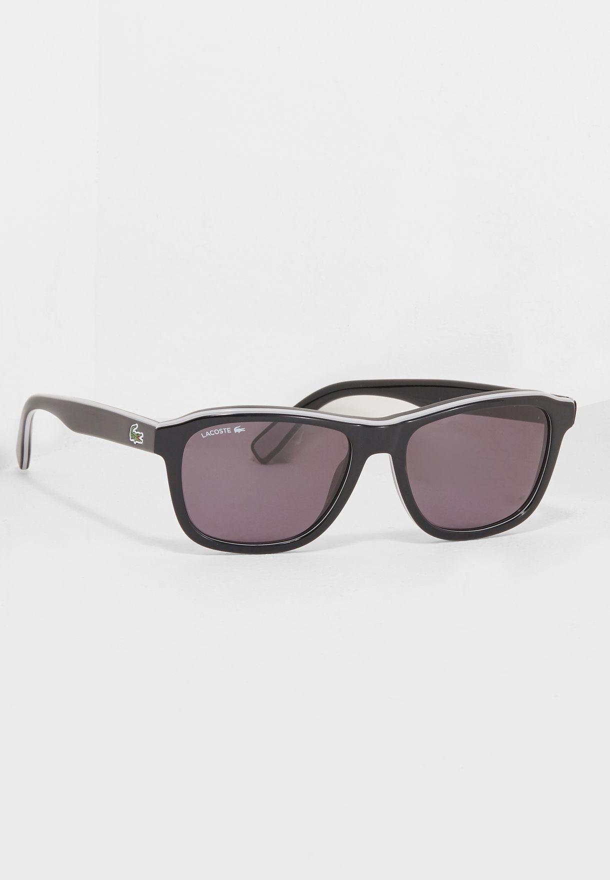 1ead5ada849d Shop Lacoste black Wayfarer Sunglasses L827S for Men in Oman ...