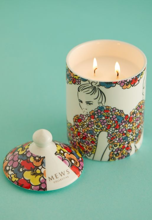 Candle 320g - Sweet Violet & Suede