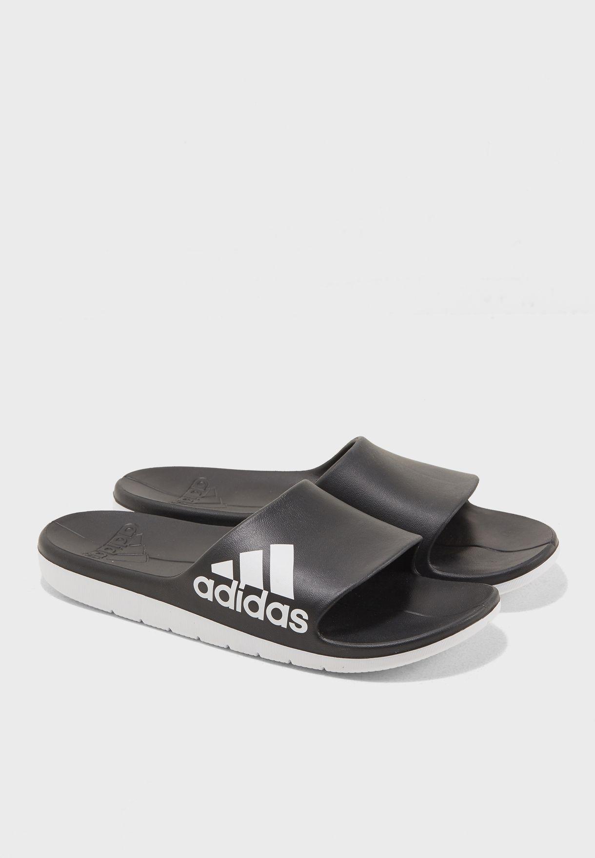 781650472a72 Shop adidas black Aqualette CF CM7928 for Men in Oman - AD476SH11THS