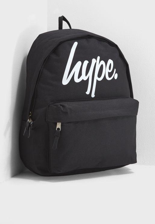 Large Script Backpack