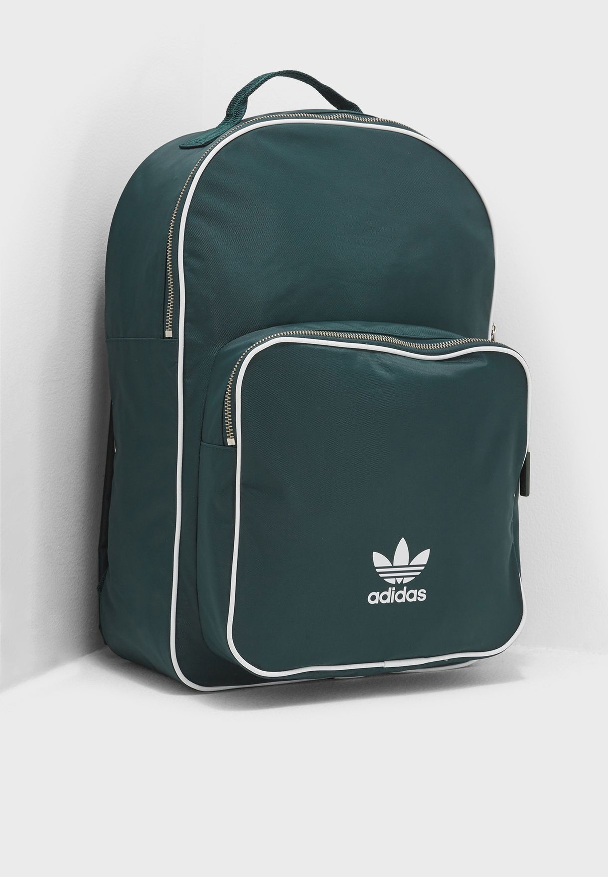 Shop adidas Originals green adicolor Classic Backpack CW0629 for Men ... a08c333ea32b4