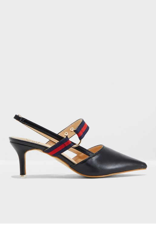 Afra Sling Back Pumps