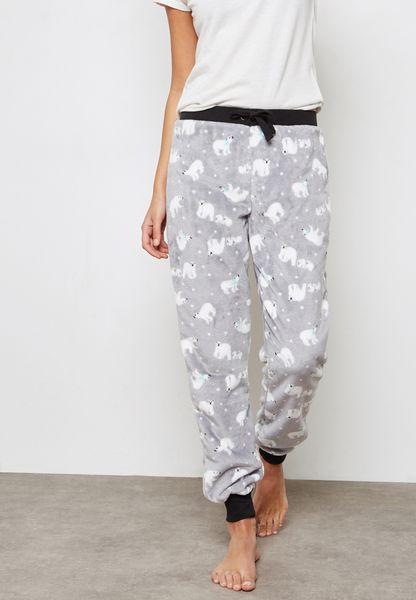 Panda Printed Pyjama