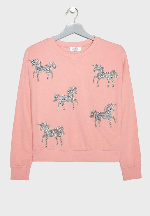 Kids Unicorn Sweatshirt