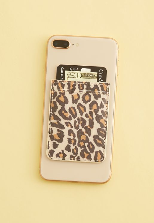 Leopard Phone Pocket