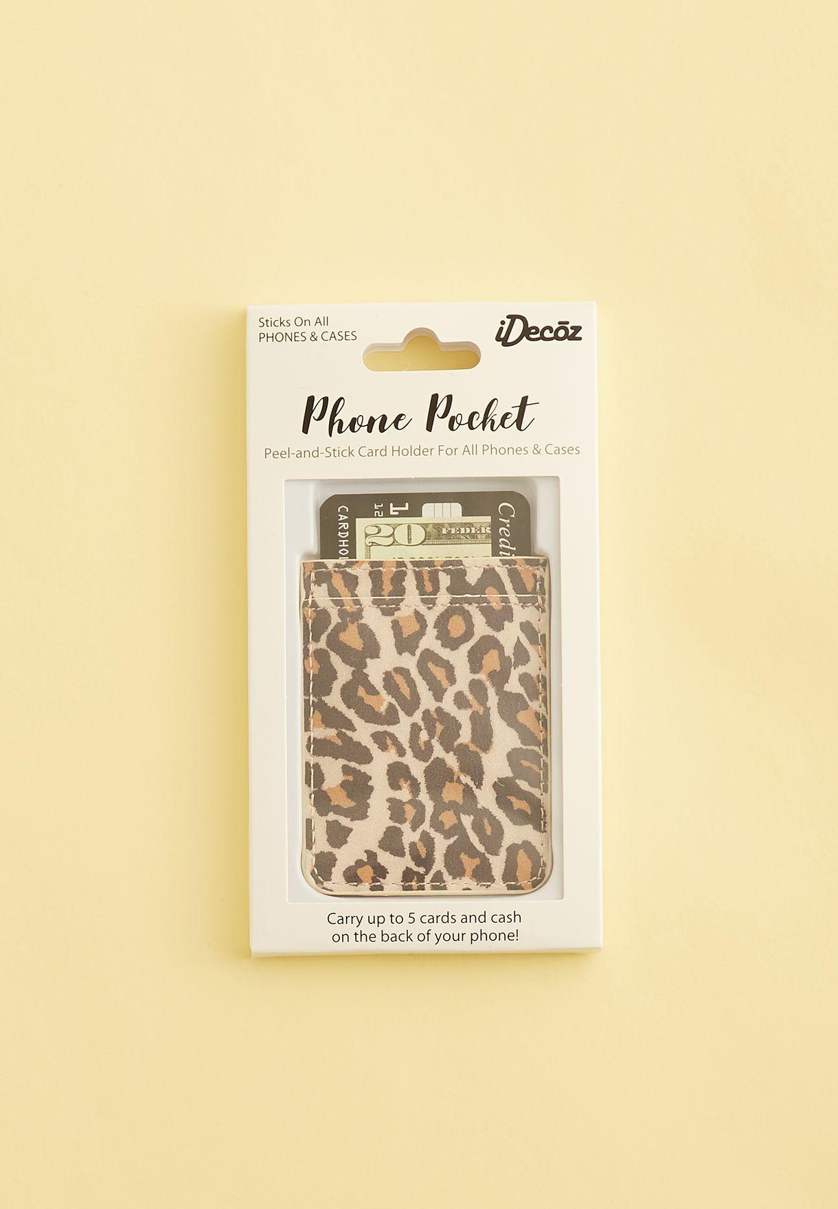 Leopard Phone Pocket