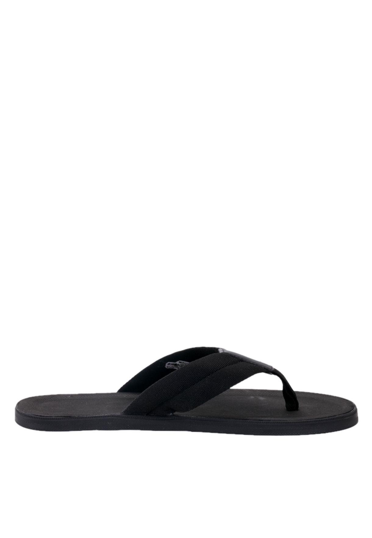1f15d8058ed5 Shop Lacoste black Casual Flipflops 25SPM4017-02H for Men in Kuwait ...