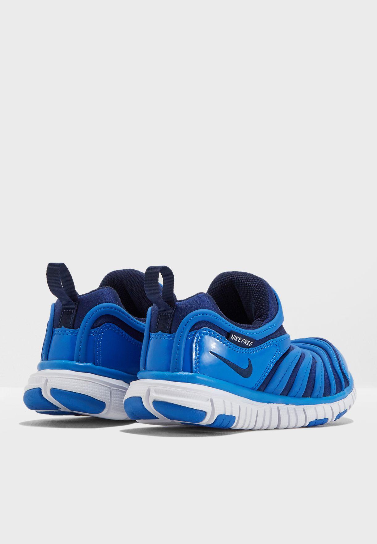 66b5e58a0a410 Shop Nike blue Kids Dynamo Free 343738-426 for Kids in Saudi ...