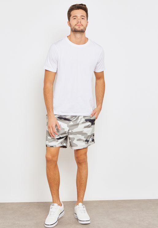 Camo Flow Woven Shorts