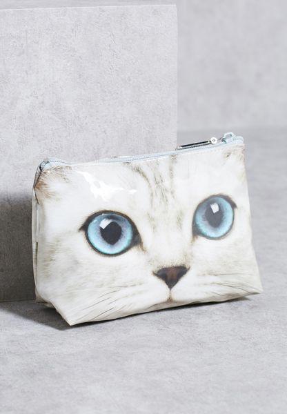 Kitty Cosmetic Bag