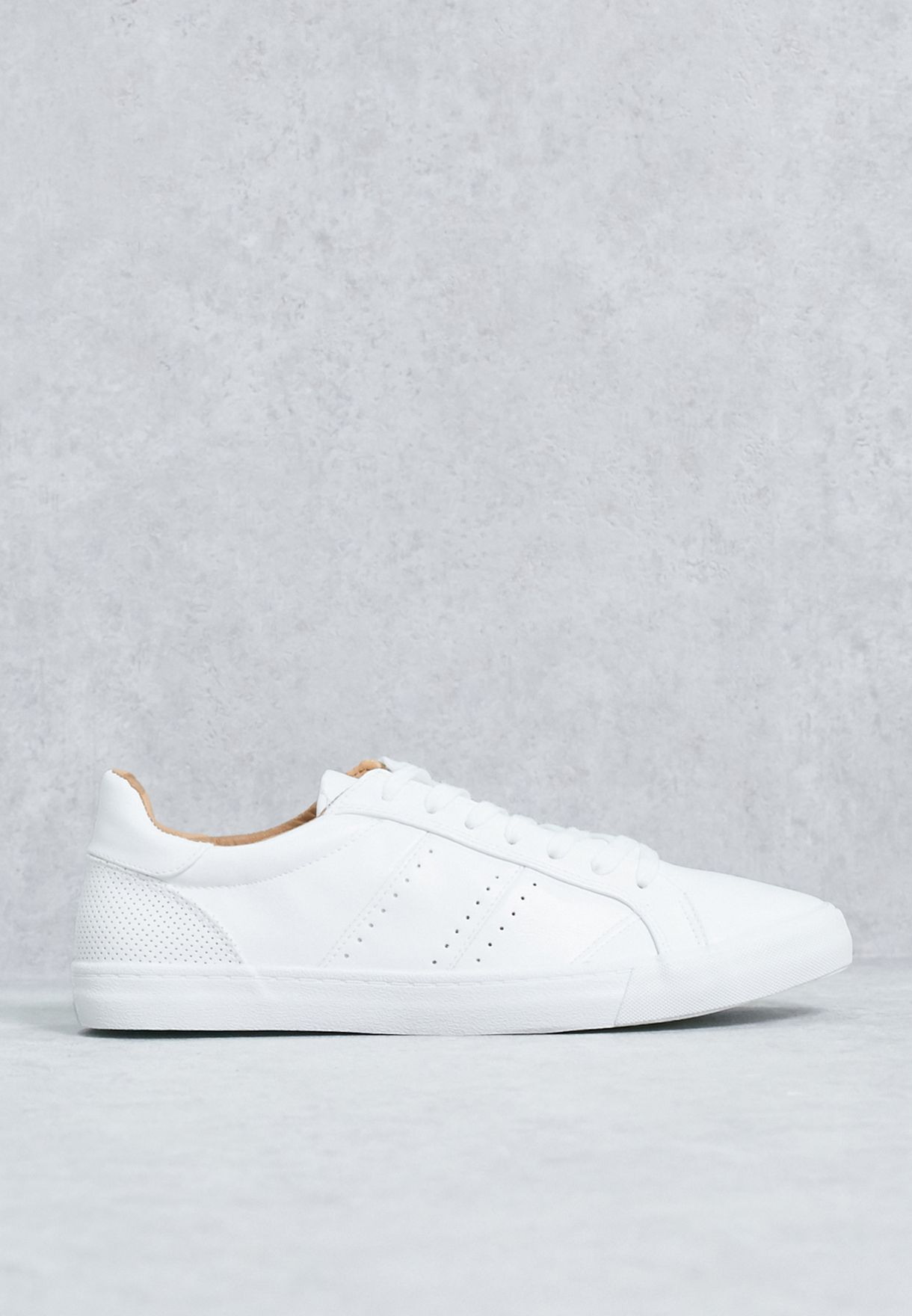Buy Topman white Casual Sneakers for