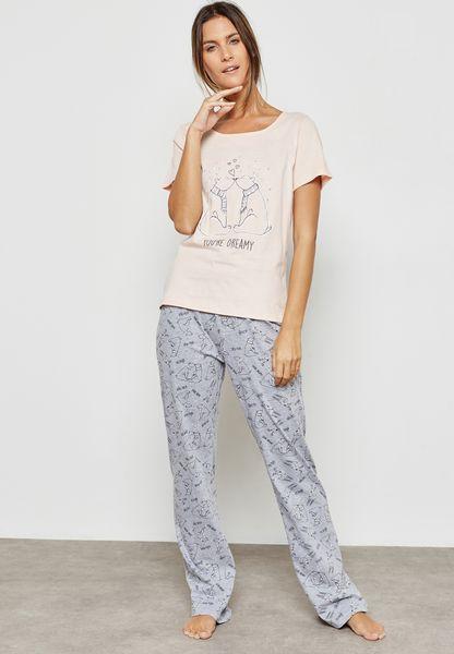 Bear Pyjama Set