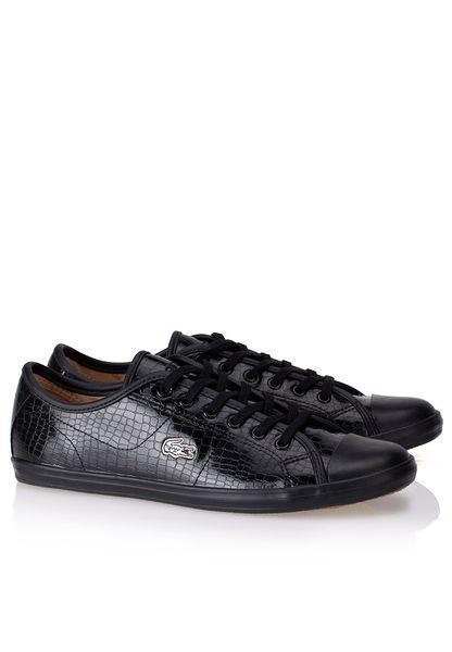 Shop Lacoste black Ziane Sneaker Crc Sneakers 29SPW103202H for Women in  Saudi  LA014SH01KZI