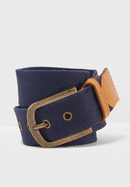 Adjustable Canvas Belt