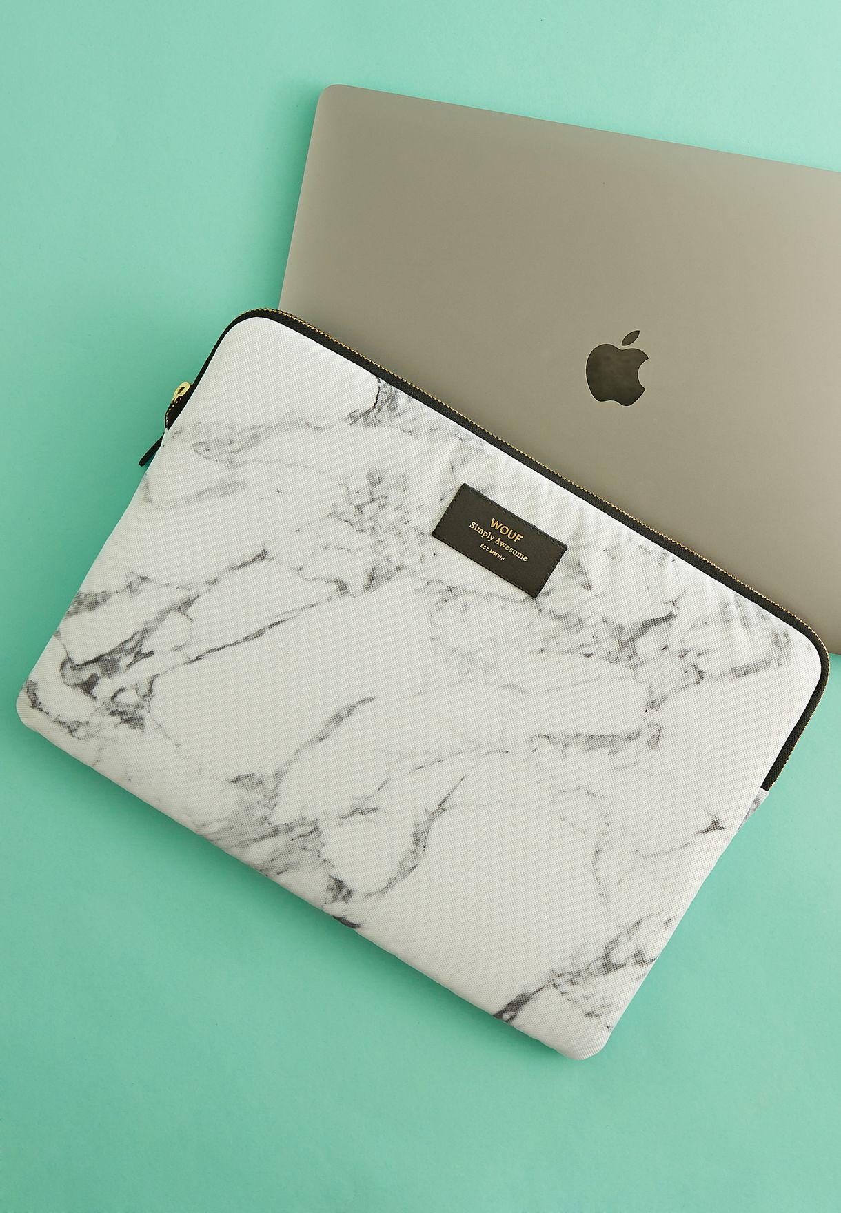 "13"" Marble Laptop Bag"