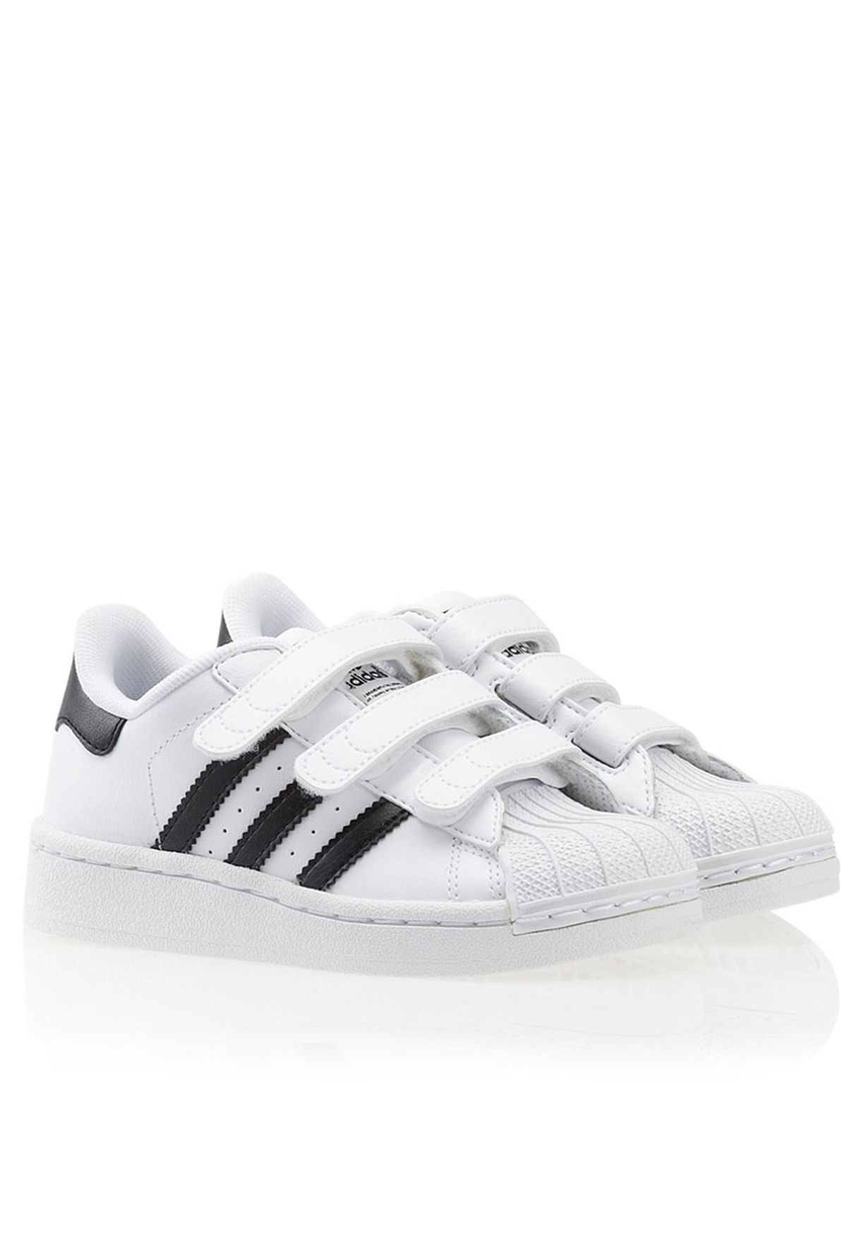 Shop adidas Originals white Superstar 2 K Sneakers G61151 for Kids in Saudi  - AD476SH01MVM 39c7fd967e