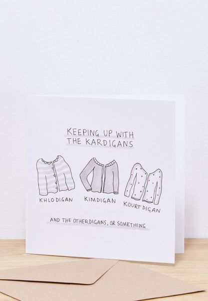 The Kardigans Square Greeting Card