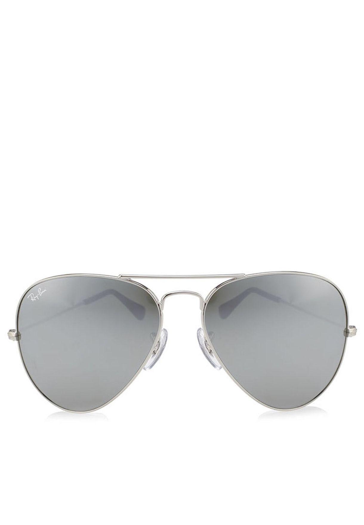 81c981d44 تسوق نظارة شمسية افياتور ماركة ريبان لون فضي في البحرين - RA736AC01CGK