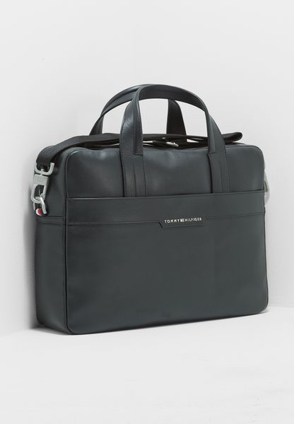 Smooth Leather Laptop Bag