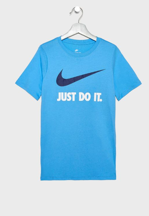 Youth Just Do It Swoosh T-Shirt