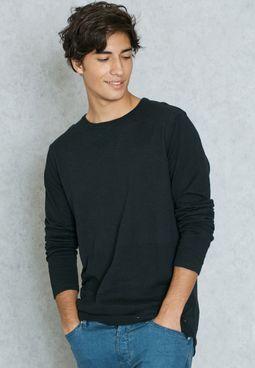 Slub Knit Sweater