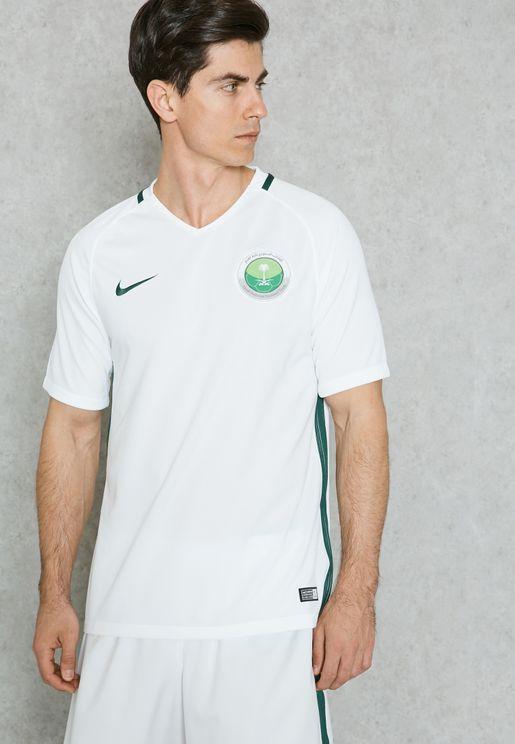 تيشيرت بشعار الفريق القومي السعودي لكرة القدم