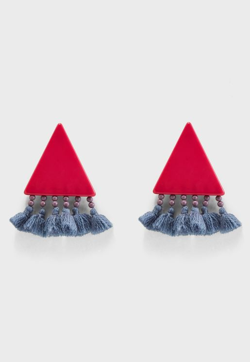 Nix Tassel Earrings