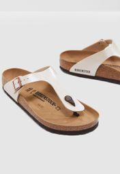 73bf541b41a Shop Birkenstock beige Gizeh Mule Sandal Gizeh-943871 for Women in Qatar -  BI055SH01QCG
