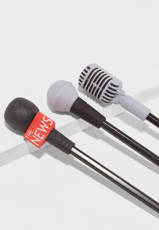 Microphone Eraser Topper