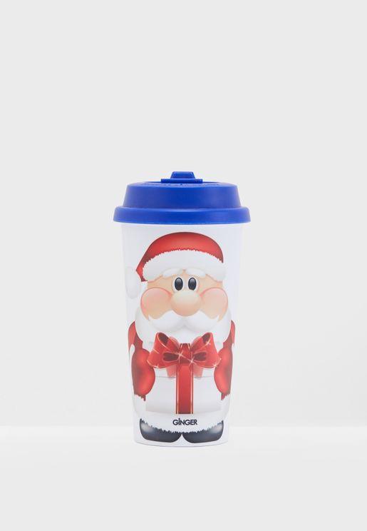 Christmas Santa Claus Flask