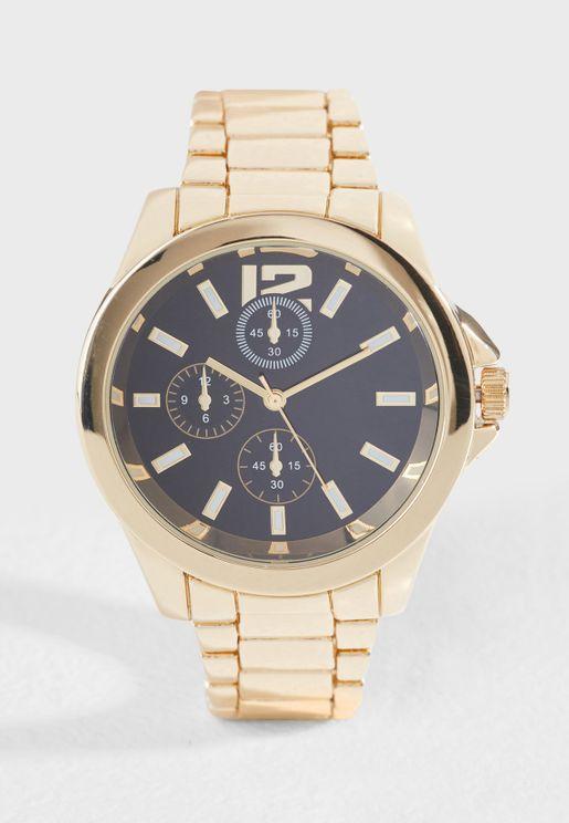 Heavy Gold Watch