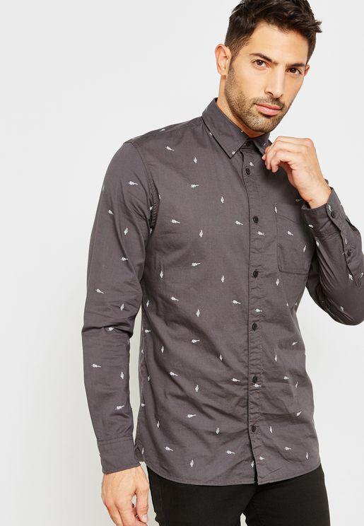 River Pocket Detail Shirt