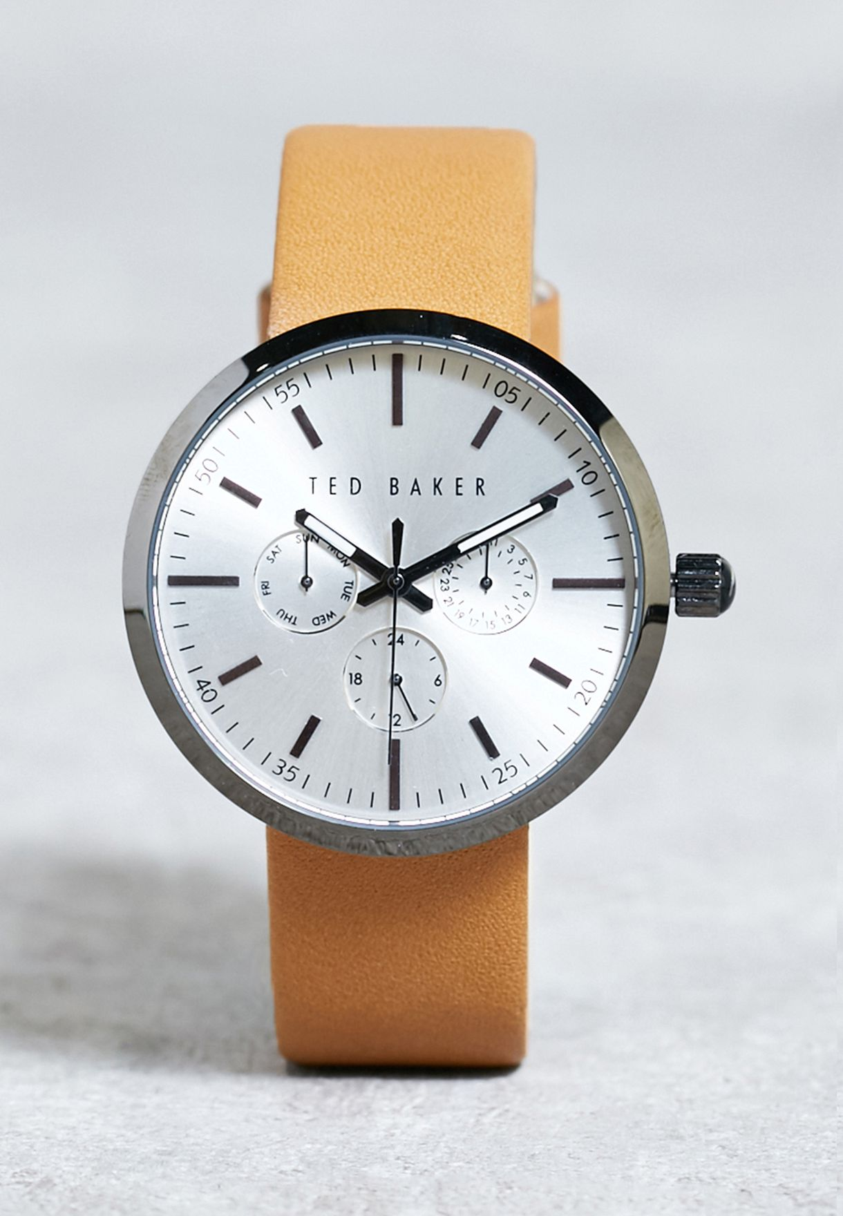 30cc7b2651b9 Shop Ted baker browns Jack Watch 10026558 for Men in Saudi ...