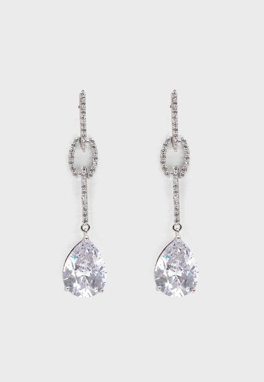 Classic Pear Drop Earrings