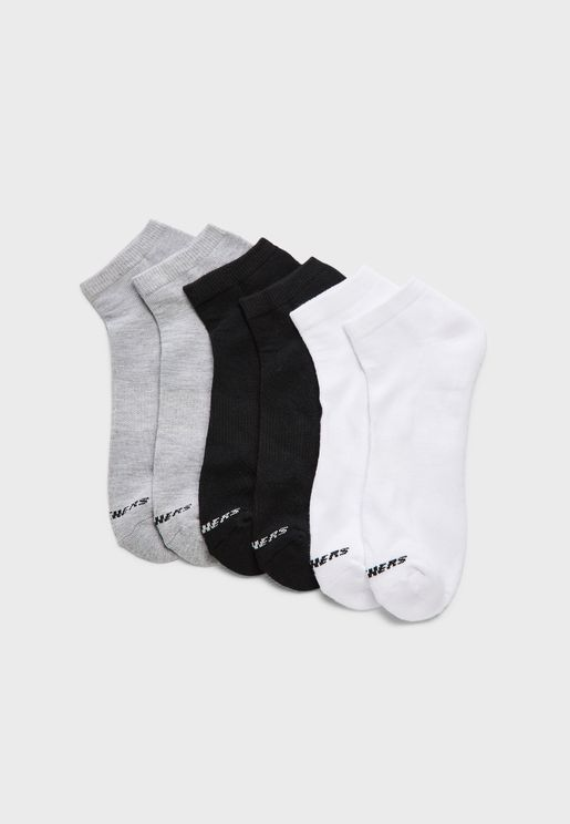 6 Pack Unisex Low Cut Socks