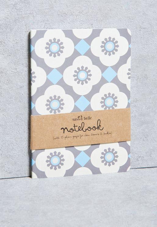 Mediterranean Mosaic Pocket Notebook