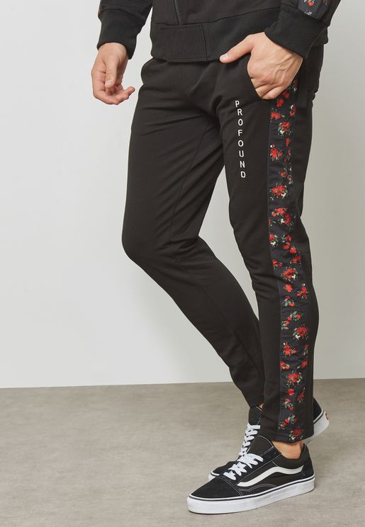 Red Rose Track Pants