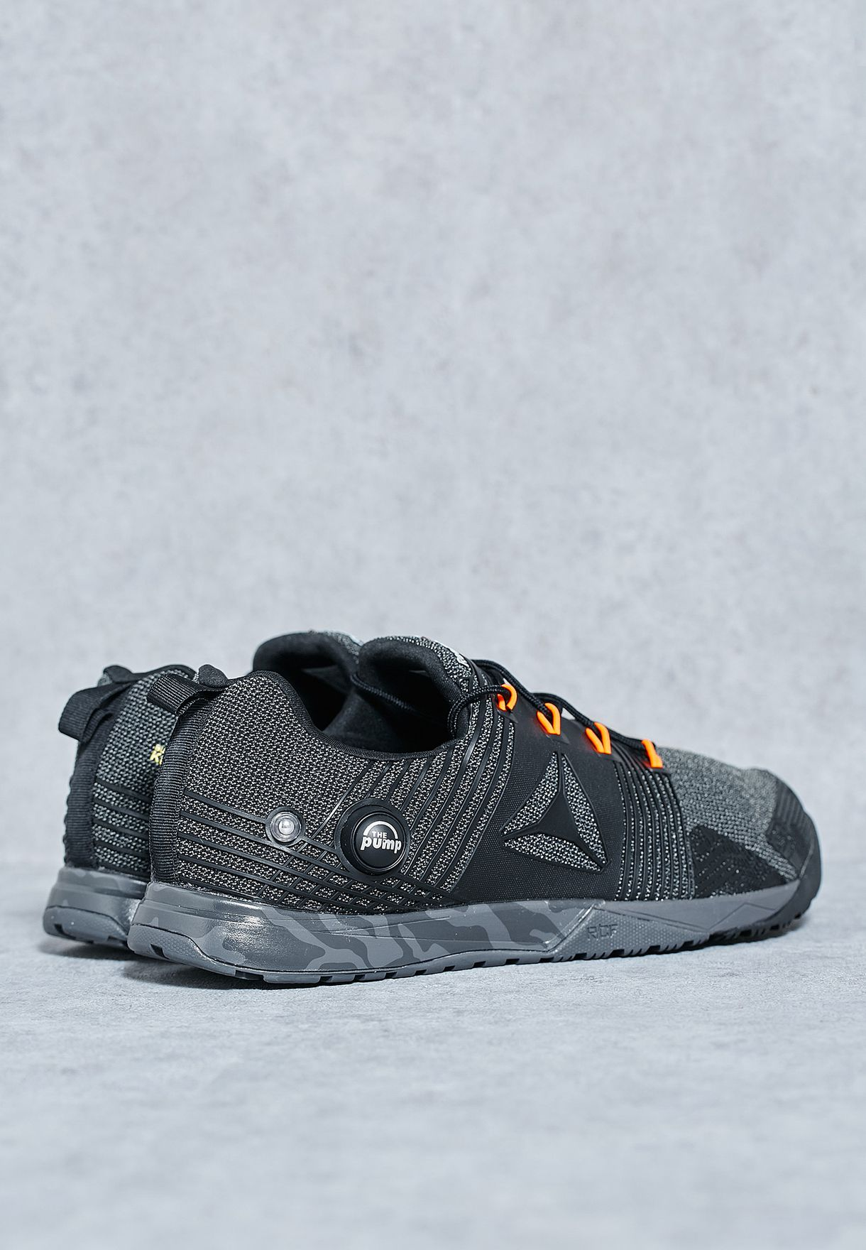 eb0d2ce54 Shop Reebok black R Crossfit Nano Pump 2.0 BD1269 for Men in Bahrain ...