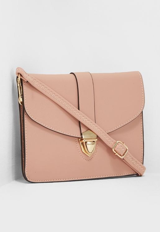Mini Pushlock Crossbody