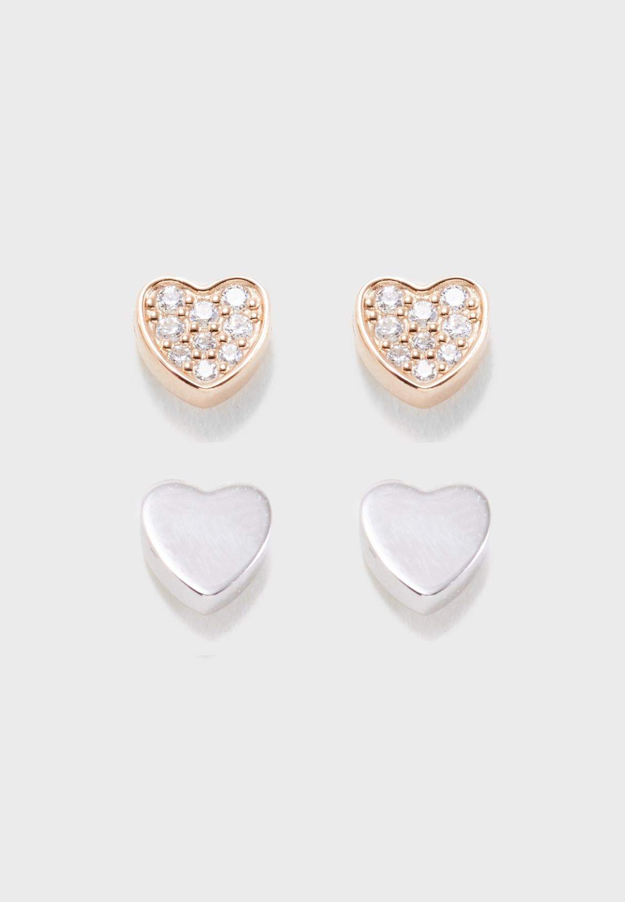 Multipack Sterline Stud Earrings