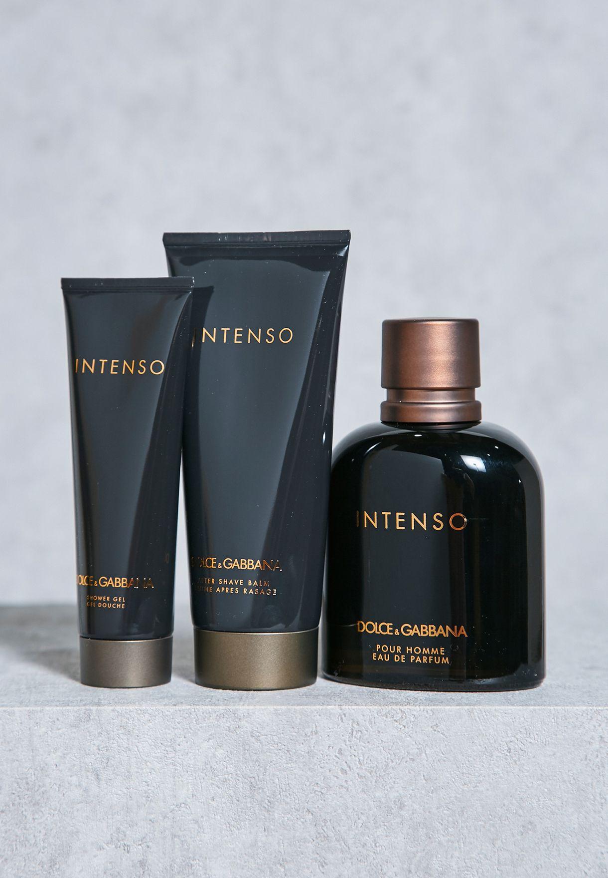 Shop Dolce   Gabbana black Intenso 125Ml Edp+As100Ml+50Mlsg ... 41d96a8981d7
